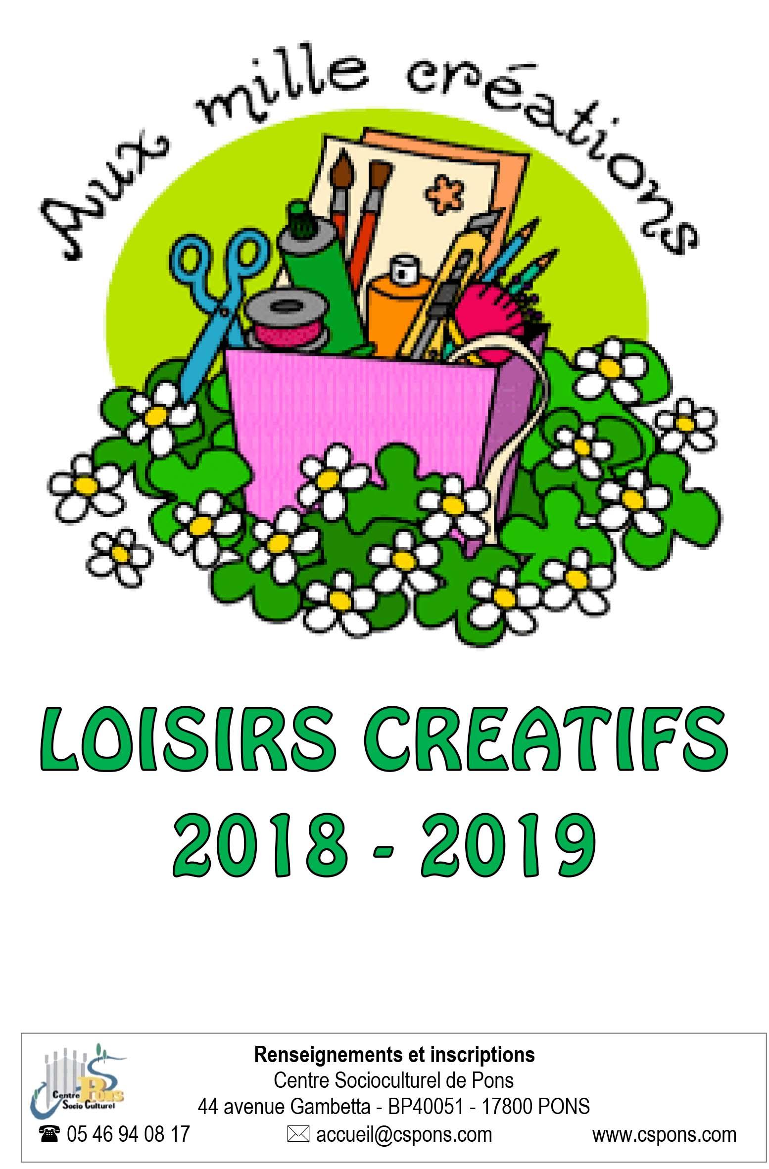 LOISIRS CREATIFS 2019-1