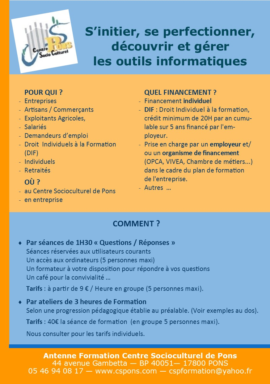Modules Informatique